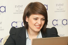 "Rodica Tătaru, Director ""AQA Event & Project Management"""