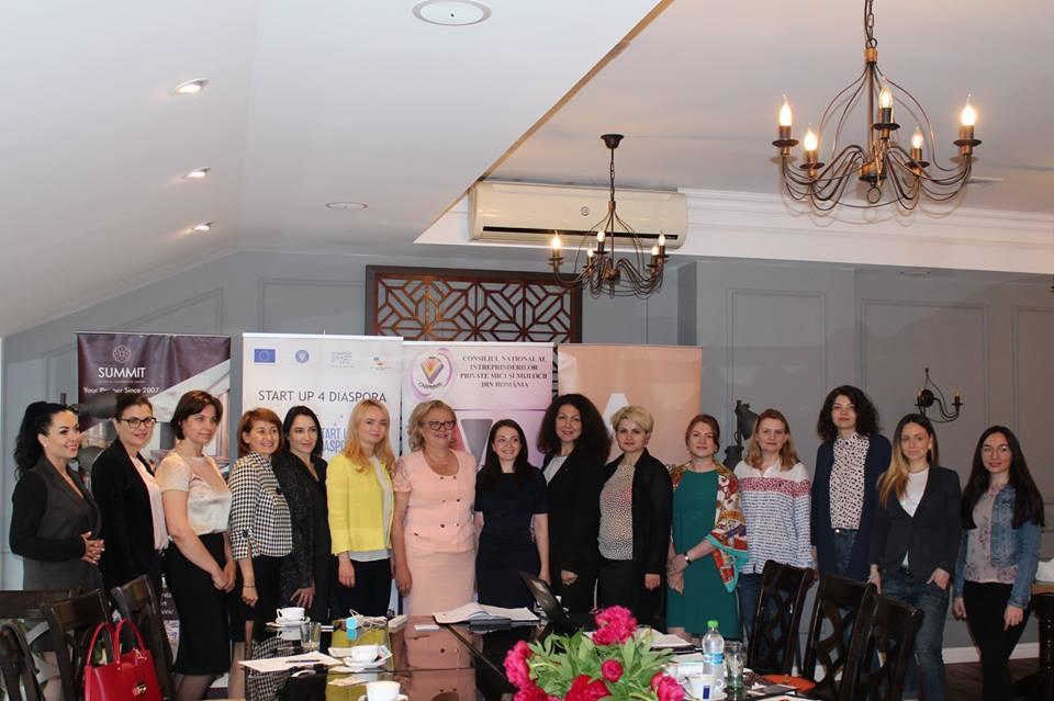 Întâlnire de informare a proiectului Start Up 4 Diaspora