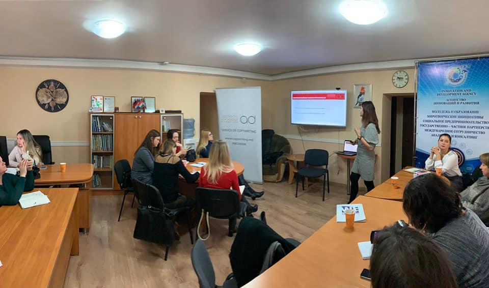 No. 2 Training WeGrow în Tiraspol cu Adriana Arnăut