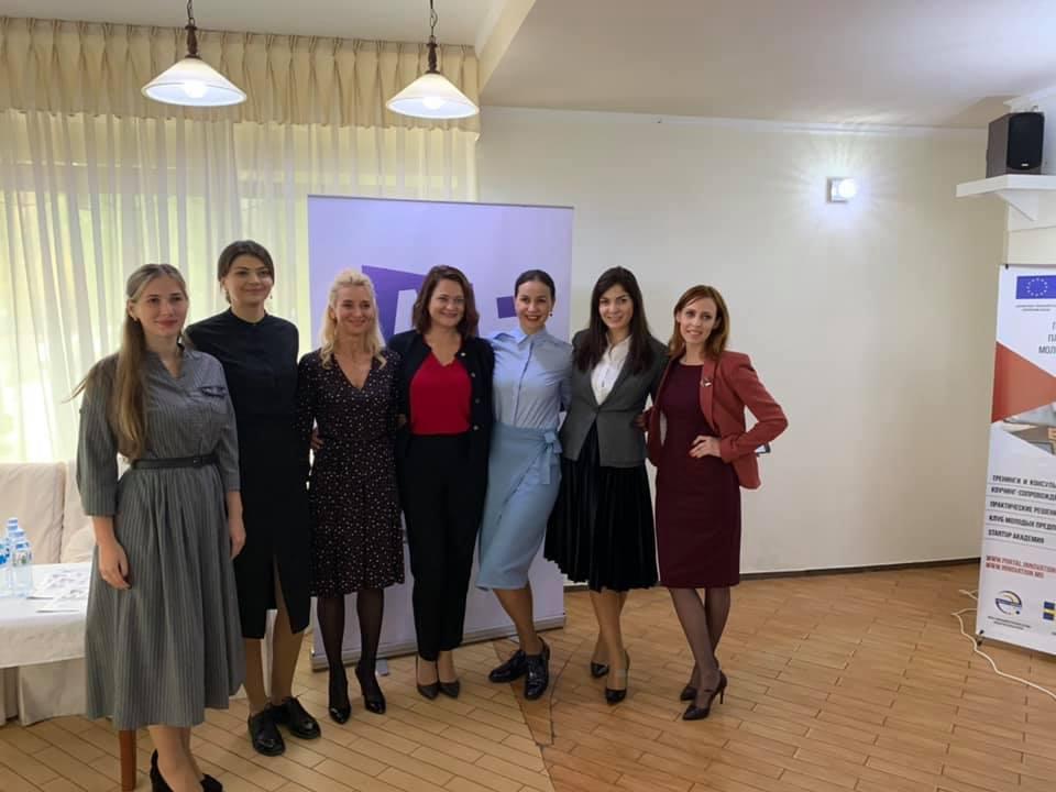 Lansarea Platformei Femeilor de Afaceri Transnistria și We Grow