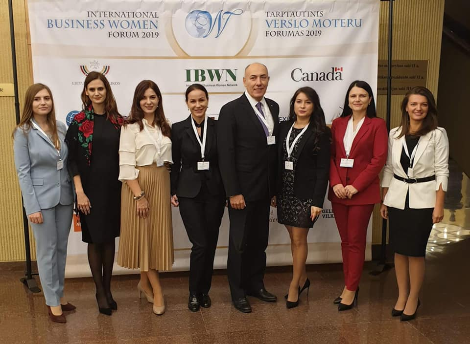 AFAM participă la International Business Women Forum 2019